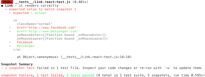 Jest 14 0: React Tree Snapshot Testing · Jest